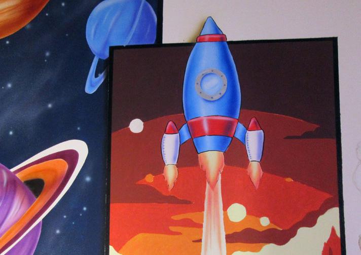 Διάστημα τοιχογραφία